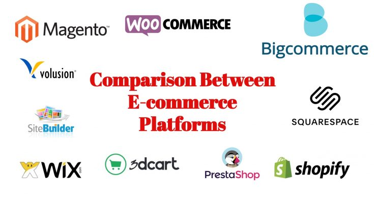 comparison between e-commerce platforms